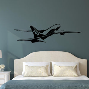 Cruising Boeing 787 (3) Designed Wall Sticker Pilot Eyes Store
