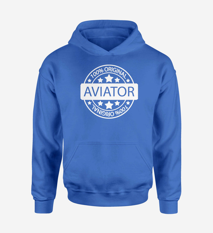 %100 Original Aviator Designed Hoodies