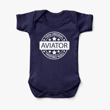 %100 Original Aviator Designed Baby Bodysuits