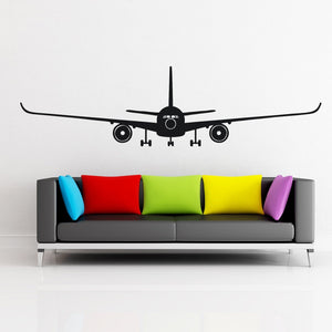 Airbus A350 Designed Wall Sticker Pilot Eyes Store