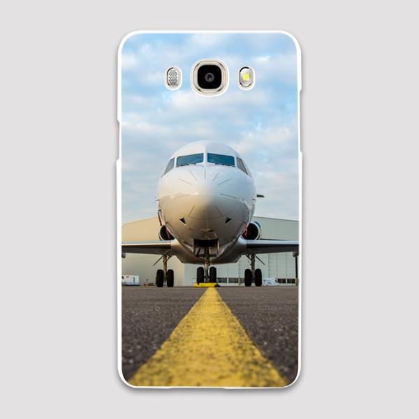 Face to Face with a Beautiful Jet Airplane Samsung C & J Cases
