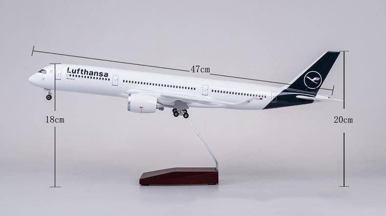 Lufthansa Airbus A350 (Special Edition 47CM) Airplane Models