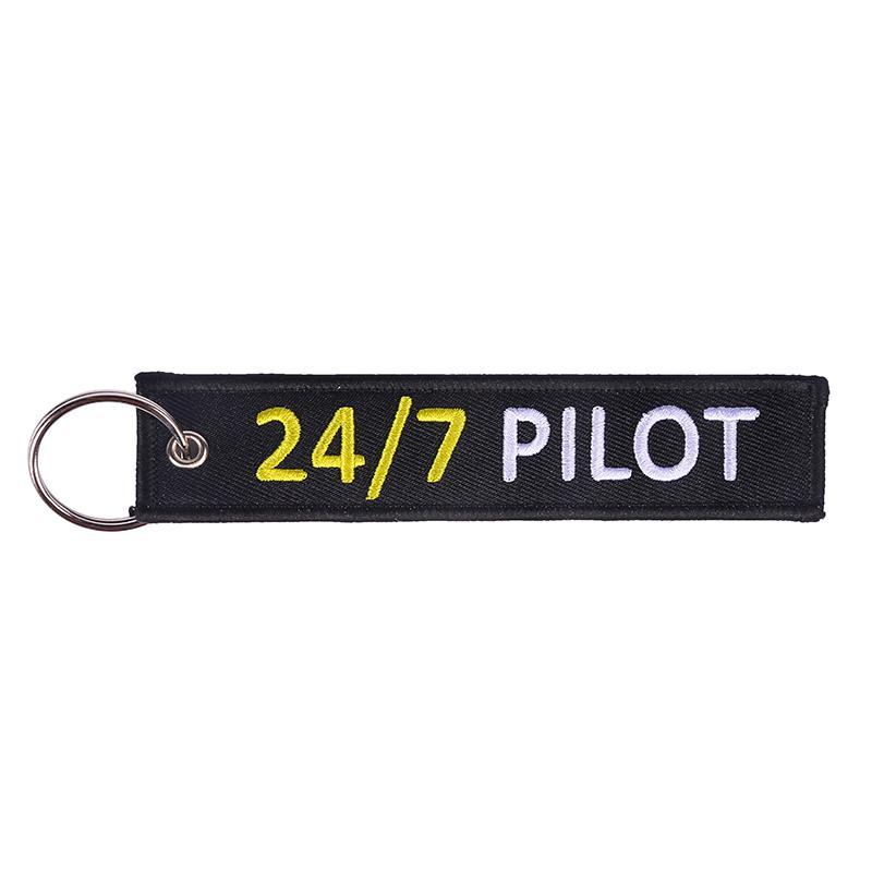 24/7 PILOT Designed Key Chains