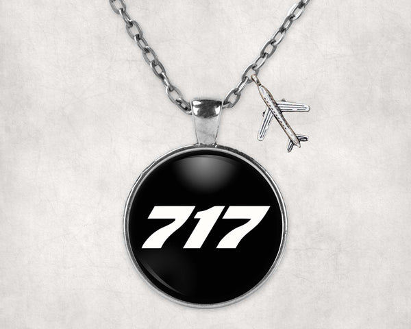 717 Flat Text Designed Necklaces