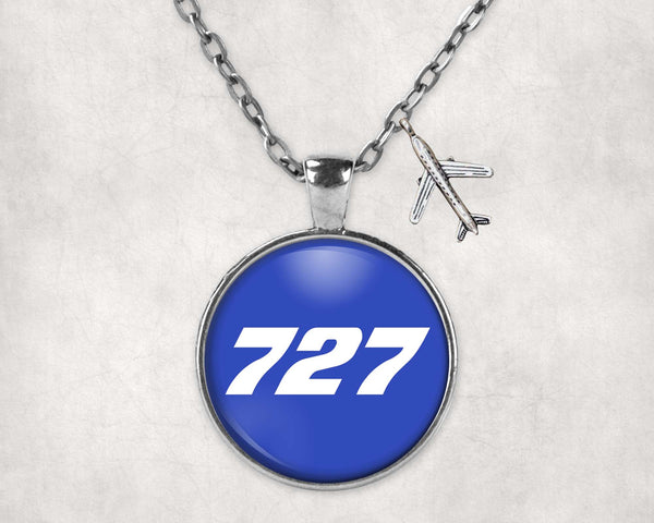 727 Flat Text Designed Necklaces