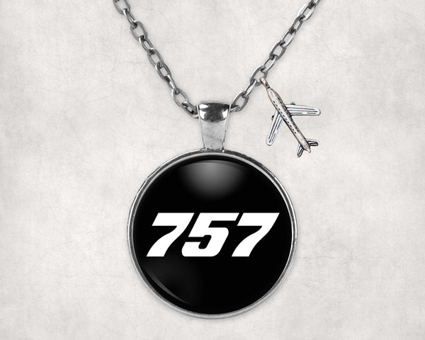 757 Flat Text Designed Necklaces