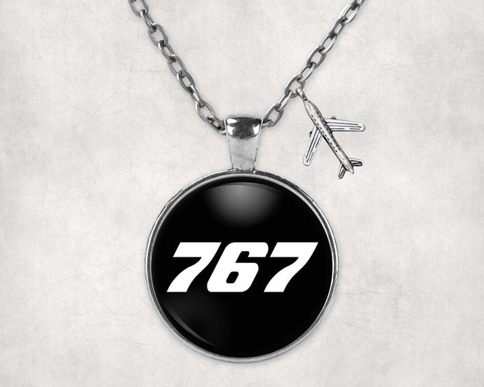767 Flat Text Designed Necklaces