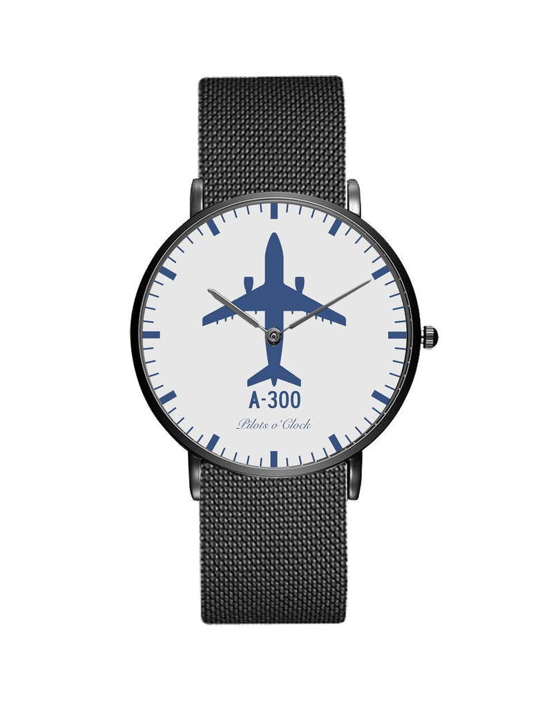 Airbus A300 Stainless Steel Strap Watches