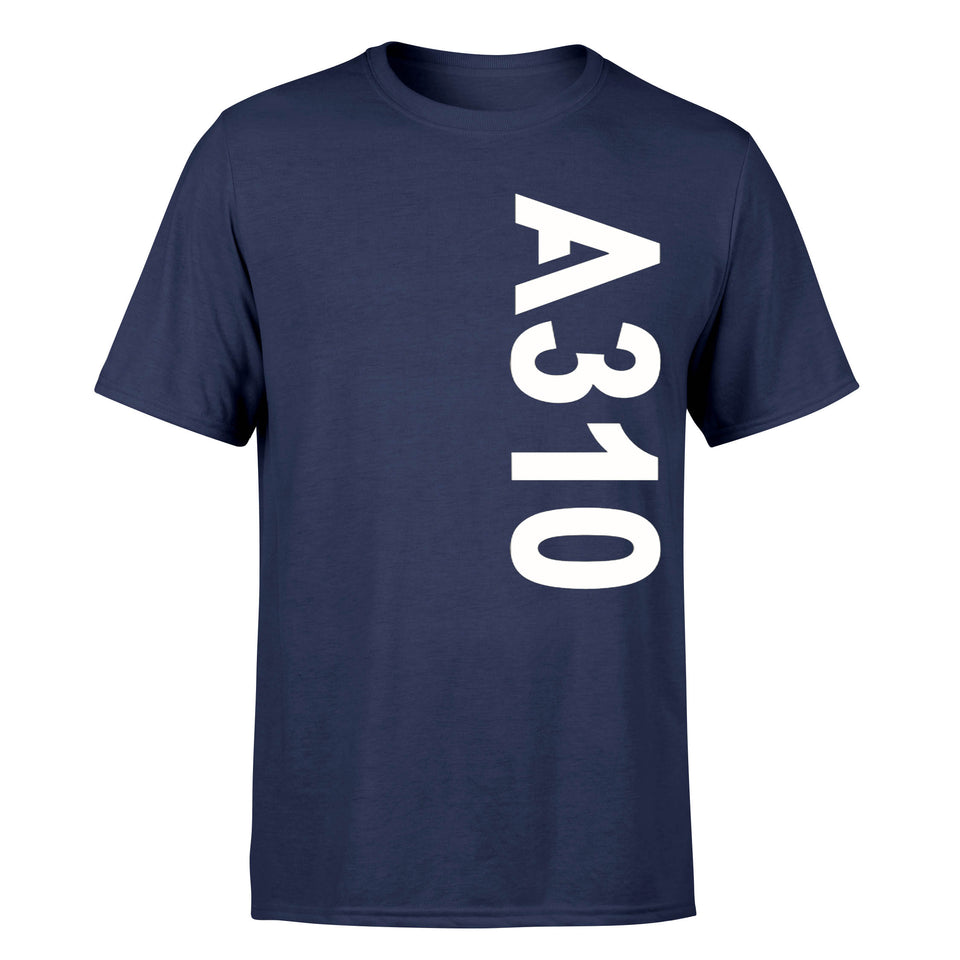 A310 Side Text Designed T-Shirts