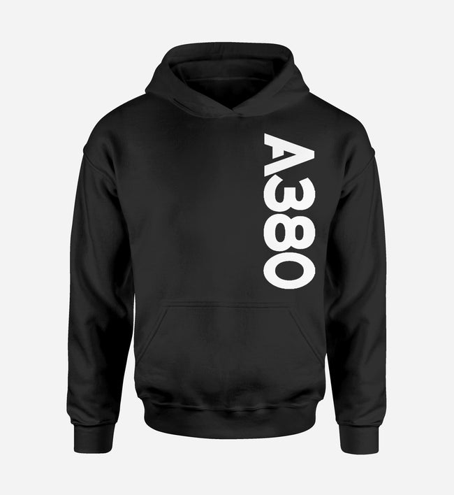 A380 Side Text Designed Hoodies
