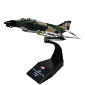 1/100 Scale USA McDonnell Douglas F-4C Phantom II Fighter Airplane Model