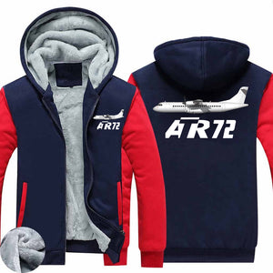 The ATR 72 Designed Zipped Sweatshirts