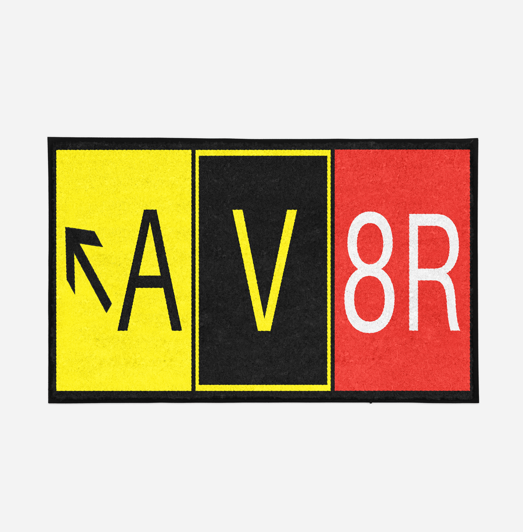 AV8R Designed Designed Door Mats Aviation Shop
