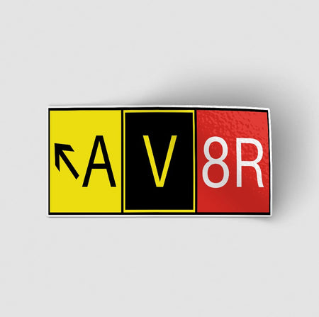 AV8R Designed Stickers