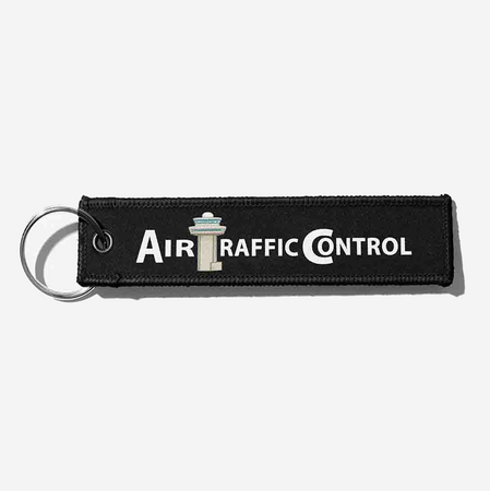 Air Traffic Control Designed Key Chains