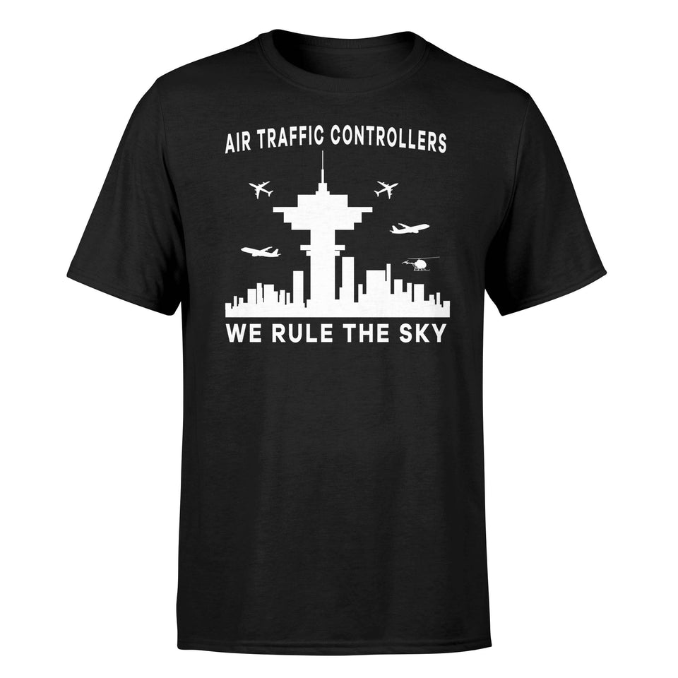 Air Traffic Controllers - We Rule The Sky Designed T-Shirts