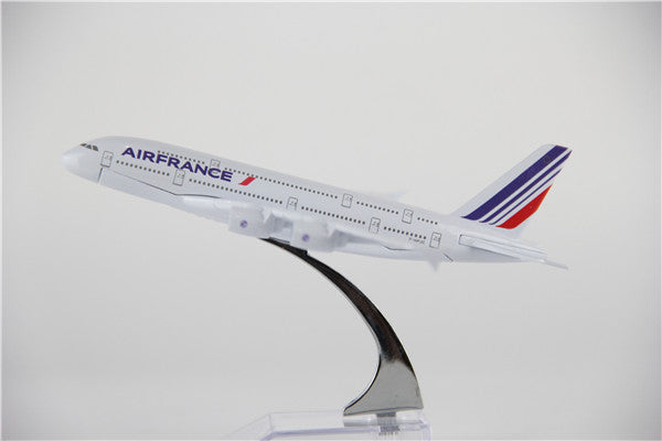 Air France Airbus A380 Airplane Model (16CM)