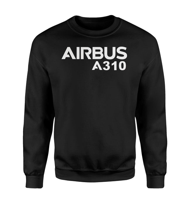 Airbus A310 & Text Designed Sweatshirts
