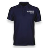 Airbus A310 & Text Designed Polo T-Shirts