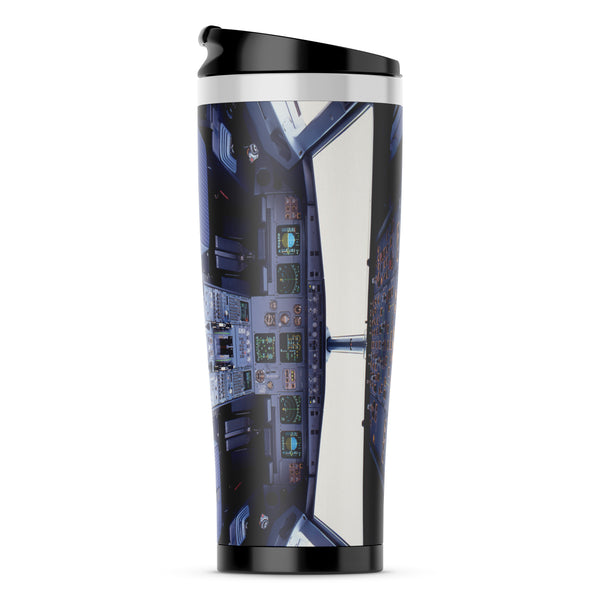 Airbus A320 Cockpit Wide Printed Samsung S & Note Cases