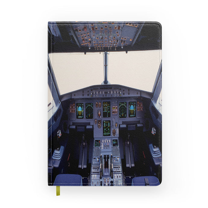 Airbus A320 Cockpit Wide Designed Notebooks