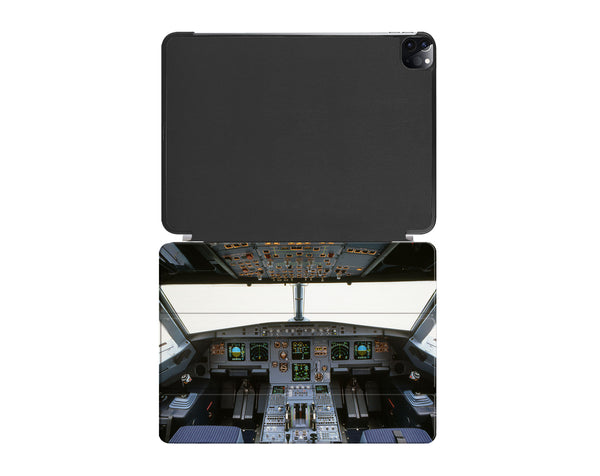 Airbus A320 Cockpit (Wide) Printed iPad Cases