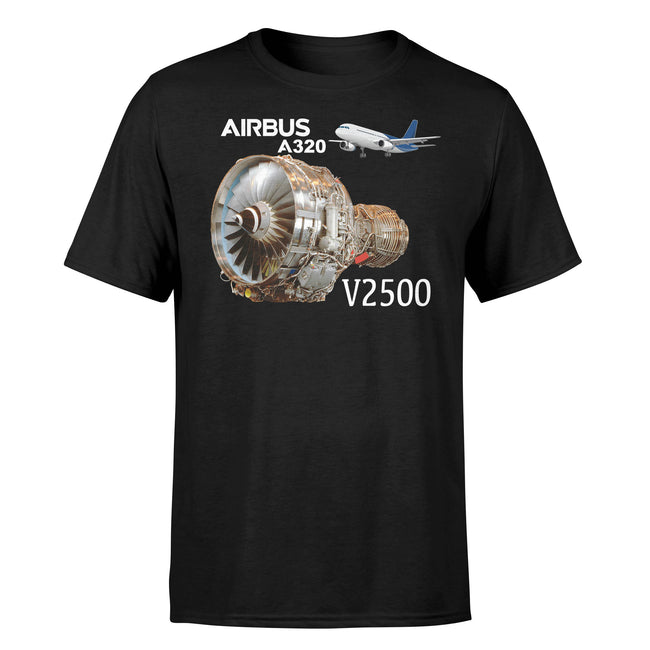 Airbus A320 & V2500 Engine Designed T-Shirts