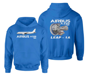Airbus A320neo & Leap 1A Designed Double Side Hoodies