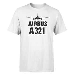 Airbus A321 & Plane Designed T-Shirts