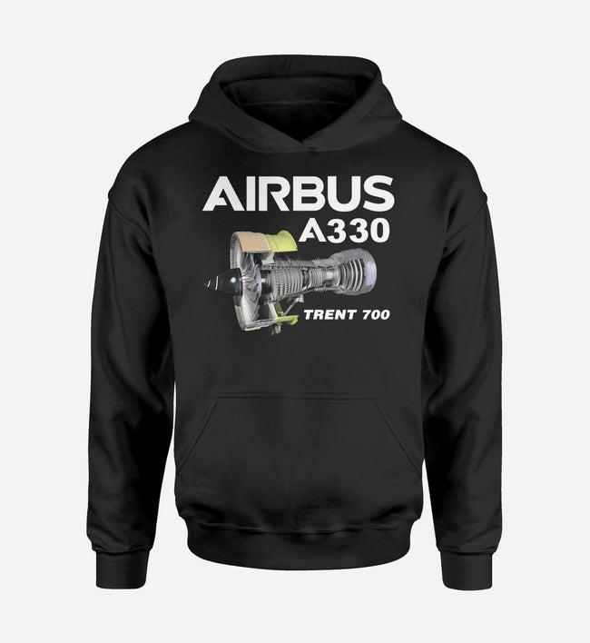 Airbus A330 & Trent 700 Engine Designed Hoodies