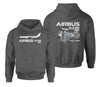 Airbus A330neo & Trent 7000 Designed Double Side Hoodies