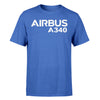 Airbus A340 & Text Designed T-Shirts