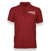 Airbus A340 & Text Designed Polo T-Shirts