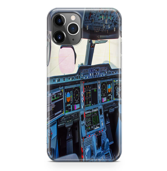 Airbus A350 Cockpit Printed iPhone Cases