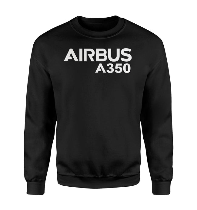 Airbus A350 & Text Designed Sweatshirts