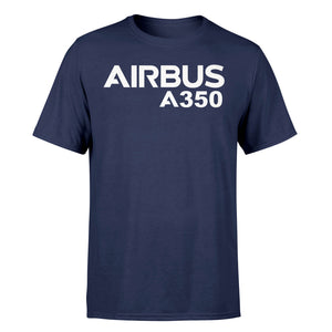 Airbus A350 & Text Designed T-Shirts