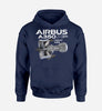 Airbus A350 & Trent XWB Engine Designed Hoodies