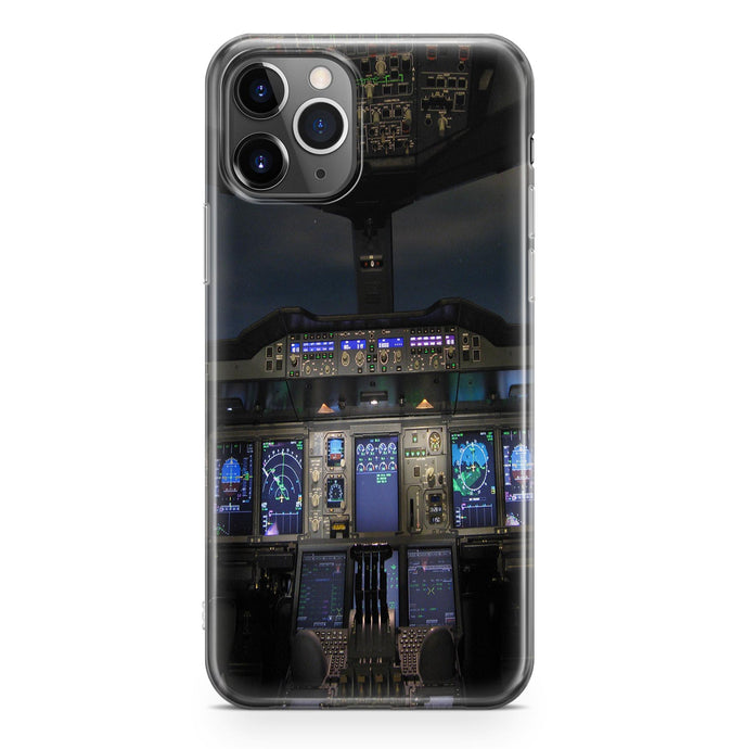 Airbus A380 Cockpit Printed iPhone Cases