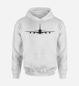 Airbus A380 Silhouette Designed Hoodies
