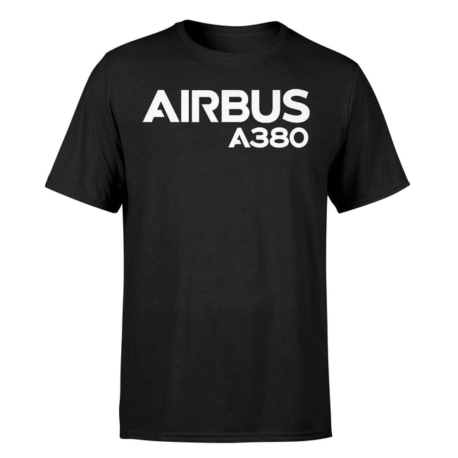 Airbus A380 & Text Designed T-Shirts