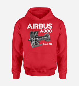 Airbus A380 & Trent 900 Engine Designed Hoodies
