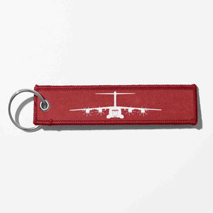 Airbus A400M Silhouette Designed Key Chains