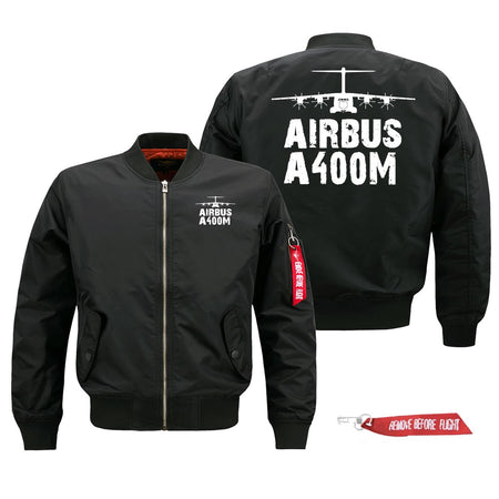 Airbus A400M Silhouette & Designed Pilot Jackets (Customizable)