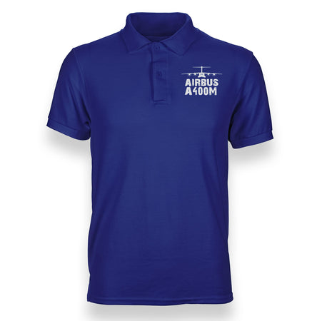 Airbus A400M & Plane Designed Polo T-Shirts