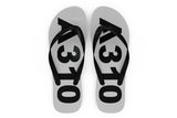 Airbus A310 Text Designed Slippers (Flip Flops)