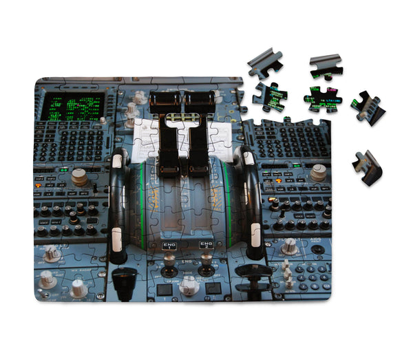Airbus A320 Cockpit Printed Puzzles Aviation Shop