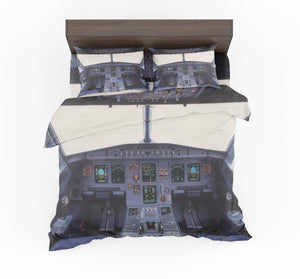 Airbus A320 Cockpit Wide Designed Bedding Sets