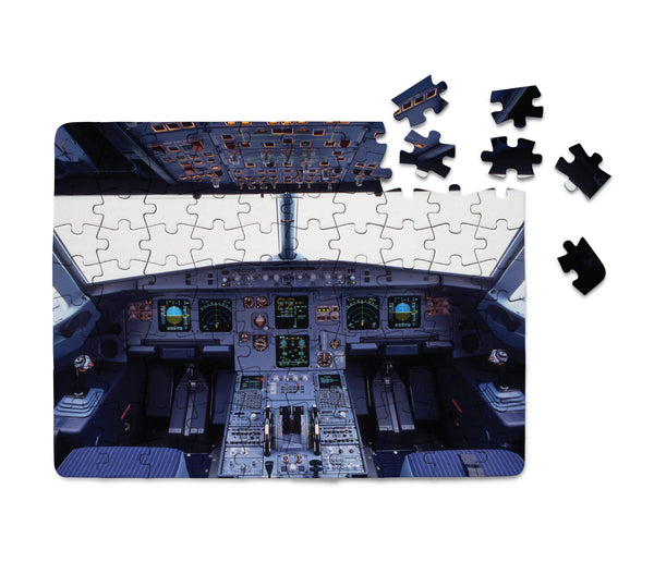 Airbus A320 Cockpit (Wide) Printed Puzzles Aviation Shop