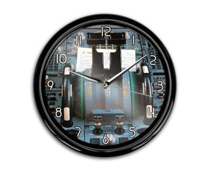 Airbus A320 Cockpit Printed Wall Clocks Aviation Shop