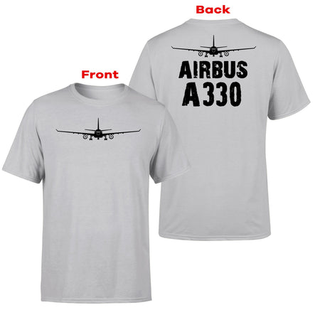 Airbus A330 & Plane Designed Double-Side T-Shirts